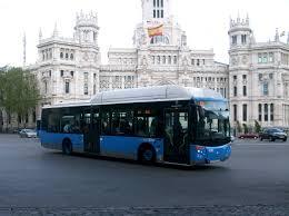Resultado de imagen de autobus madrid
