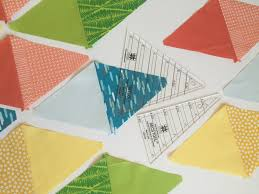 Quickie Quilt with EZ Quilting Tri-Rec - Color Girl Quilts by ... & Tri Recs ruler by Ez quilting Adamdwight.com