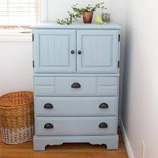 Americana Chalk Paint Color Chart Serene Chalky Finish Dresser Makeover Project By Decoart