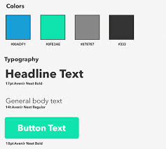 Style Guide Template Word How To Make An Effective Style Guide With Adobe Fireworks Smashing