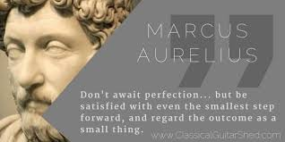Marcus Aurelius Quotes Inspiration Quote] Marcus Aurelius On Taking One Step Forward % Classical