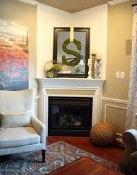 living room decor with corner fireplace. Corner Fireplace Design With Decor : Home Designs And , Ideas Living Room P