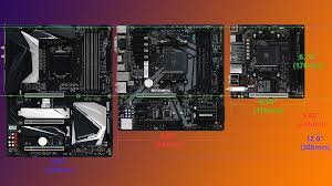 Atx Motherboard Size Chart A Basic Guide To Motherboard Case And Power Supply Form
