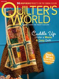 Quilting Magazines - Quilter's World Autumn 2017 & Quilter's World Autumn 2017 Adamdwight.com