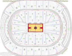 Bulls Seating Chart With Seat Numbers Bell Center Seating
