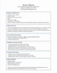 Activities Resume Template New Example A Simple Resume Pdf Format ...