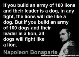 Good Leader Quotes Inspiration Good Leader Quotes A Brilliant Army