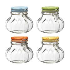 Decorative Glass Jars For Kitchen Kitchen Canisters and Jars 5