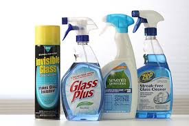 glass cleaner group shot