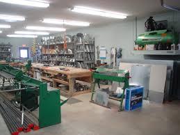 sheet metal shop hall heating metal fabrication