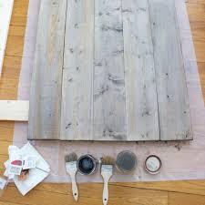 Grey Wash Wood Stain Aging Wood With Steel Wool Vinegar And Tea