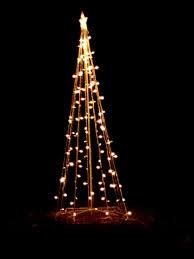 Cone Shaped Christmas Tree Lights Christmas Lights Shaped Like Tree Holiday Yard Decoration