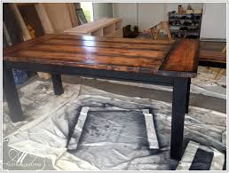 Rustic Wooden Kitchen Table Diy Rustic Wood Kitchen Table Best Kitchen Ideas 2017