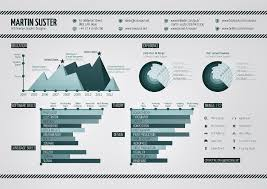 Infographic Resume On Monochrome Graphic Design [infographic] -  Infographicspedia
