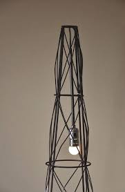 lit lamp chandelier