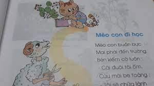 Tiếng Việt lớp 1 - Tập đọc bài thơ