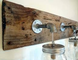 Rustic Bathroom Vanity Lights Stunning Rustic Bathroom Lighting Ideas Elegant Rustic Bathroom Lighting