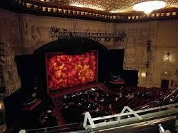 Orpheum Theatre San Francisco Section Loge L Row C Seat