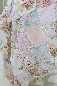 Shabby Chic Bedding Ideas DIY Projects Craft Ideas & How To's for ... & Shabby Chic Rag Quilt | 12 DIY Shabby Chic Bedding Ideas Adamdwight.com