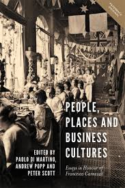bbr design editorial services front cover of people places and business cultures essays in honour of sca carnevali