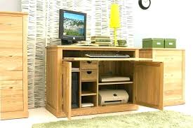 crate and barrel home office. Crate And Barrel Computer Desk Hideaway Workstation Home Office Furniture Desktop Tall Decorating Tips For K