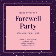 Invitation Cards For Farewell Party Invitation Cards For Farewell To Seniors Kijkopfilm Info