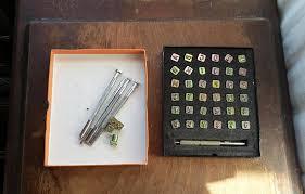 vintage leather stamping tools. vintage leather stamping tools midas alphabet \u0026 numbers set i
