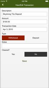 Checkbook Ledger App Apps To Balance Checkbook Ronni Kaptanband Co