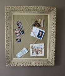 How To Make A Framed Decorative Bulletin Board  French Memo Decorative Bulletin Boards For Home
