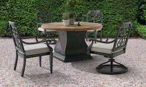 round outdoor dining sets. A.R.T. Architectural Salvage Round Outdoor Dining Set Sets U