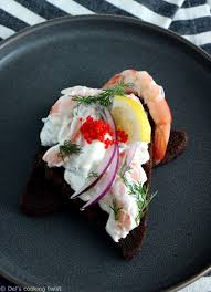 Swedish Toast Skagen Prawn Toasts 2 Ways Dels Cooking