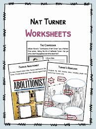 Nat Turner Facts, Worksheets & Biography For Kids