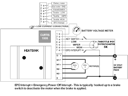 curtis 1505 speed controller specifications requires a minimum of 18 volts dc to operate requires a 5k ohm throttle or potentiometer complete all connections prior to hooking up the battery