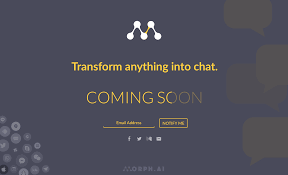 Coming Soon Landing Page For Morph Ai Uplabs