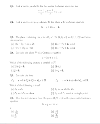 perpendicular planes equation. question: find a vector parallel to the line whose cartesian equations are unit perpendicula. perpendicular planes equation