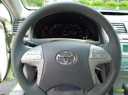 2007 Toyota Camry Hybrid Ash Steering Wheel Photo #69133181 ...