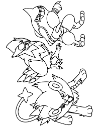Pokemon Coloring Pages Luxray