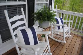 outdoor front porch furniture. Front Porch Furniture Ideas For Your House : Incredible Decoration Using Blue Stripe Outdoor