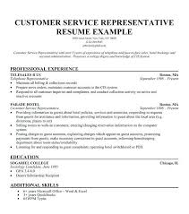 Objective Summary Resume Customer service resume objective basic vision summary for skill 67