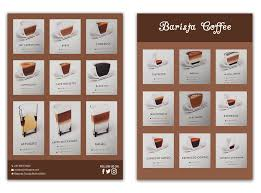 Entry 30 By Bhripon990 For Barista Coffee Chart Freelancer