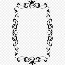 vintage frame design png. Picture Frame Clip Art - Vintage PNG Design Png