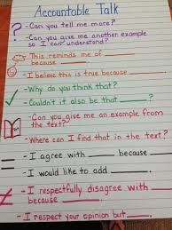 Accountable Talk Reflecting Teacher