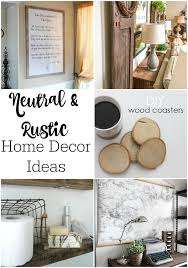 neutral rustic home decor ideas dandelion patina