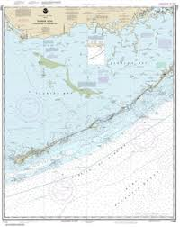 Noaa Chart 11451 11452 Intracoastal Waterway Alligator Reef To Sombrero Key Nautical Chart