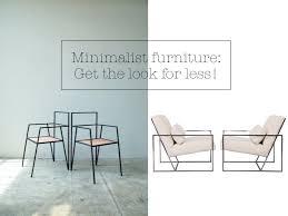 minimalist furniture design. Minimalist \u0027skinny\u0027 Furniture; Get The Designer Look For Less! Furniture Design E