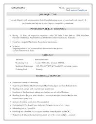 Mainframe Developer Resume Examples mainframe resume Hospinoiseworksco 2