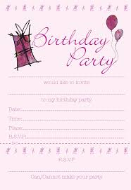 031 Srpi02 Girls Party Invitation 50th Birthday Templates