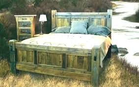 distressed wood bed – masterlucy.com