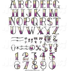 collage fonts free royalty free vector clip art of a digital set of black and white