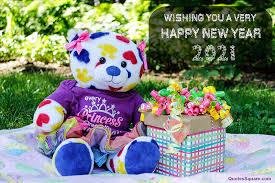 35 best happy new year 2021 teddy bear